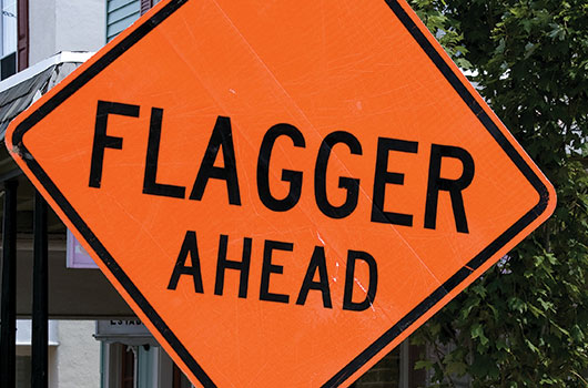 Flagging Services | PGC Traffic | Nationwide Traffic Services
